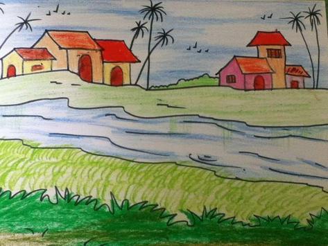 Learn to Draw Landscape Scenery screenshot 3