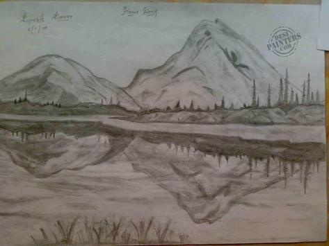 Learn to Draw Landscape Scenery poster