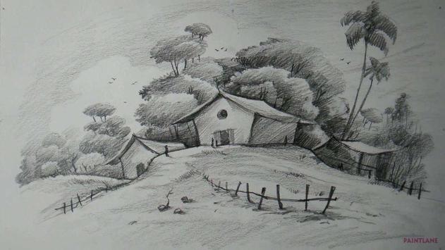 Learn to Draw Landscape Scenery screenshot 2