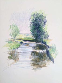 Learn to Draw Landscape Scenery screenshot 5