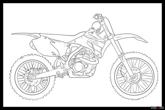 Learn to Draw Motorcycle screenshot 3