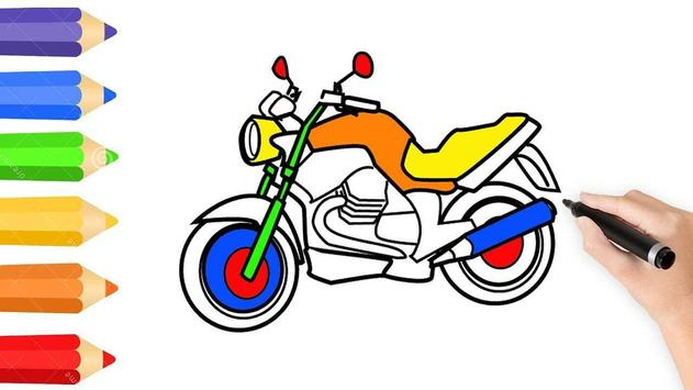Learn to Draw Motorcycle poster