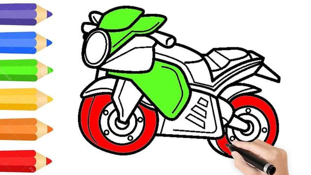 Learn to Draw Motorcycle screenshot 4
