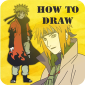 How to Draw Narutoo icon