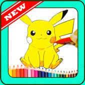 learn to draw pokemon icon