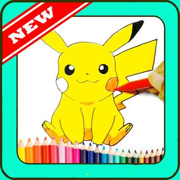learn to draw pokemon poster
