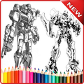 learn to draw robot