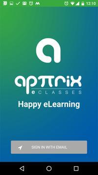 Apttrix Learning App poster
