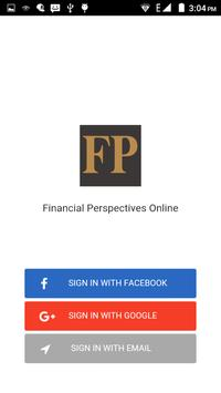 Financial Perspectives Online poster