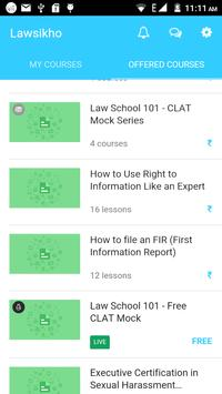 LawSikho apk screenshot