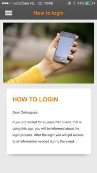 LeasePlan Event screenshot 3