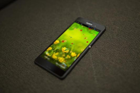 Leaves HD LiveWallpaper apk screenshot