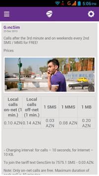 Azercell News apk screenshot