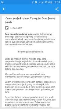 Doa Pengobatan Orang Sakit Ampuh apk screenshot