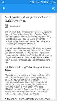 Tokoh Kh Maimun Zubair apk screenshot