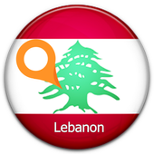Lebanon Map icon