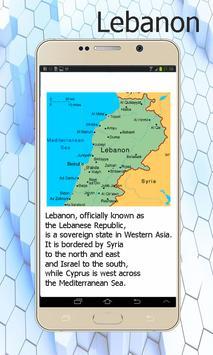 Lebanon Map screenshot 1
