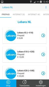 Lebara NL – Top Up poster
