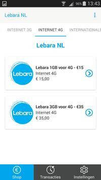 Lebara NL – Top Up apk screenshot
