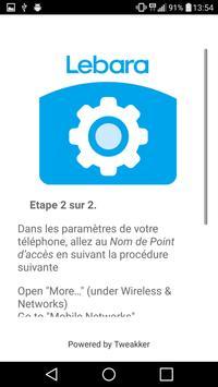 Lebara APN France apk screenshot