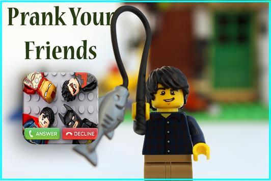 Call From Lego SuperStars apk screenshot