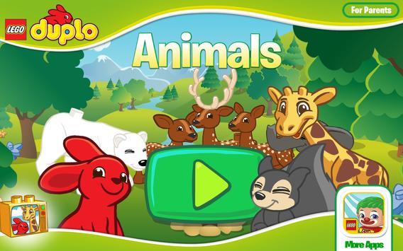 LEGO® DUPLO® Animals poster