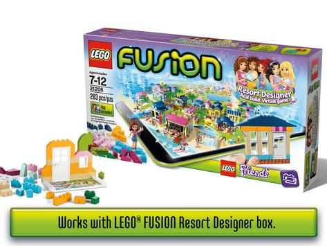 LEGO® FUSION Resort Designer screenshot 1