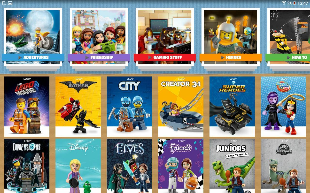 Lego 174 Tv Apk Download Free Entertainment App For Android
