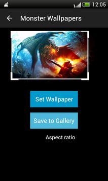 Monsters HD Wallpapers apk screenshot