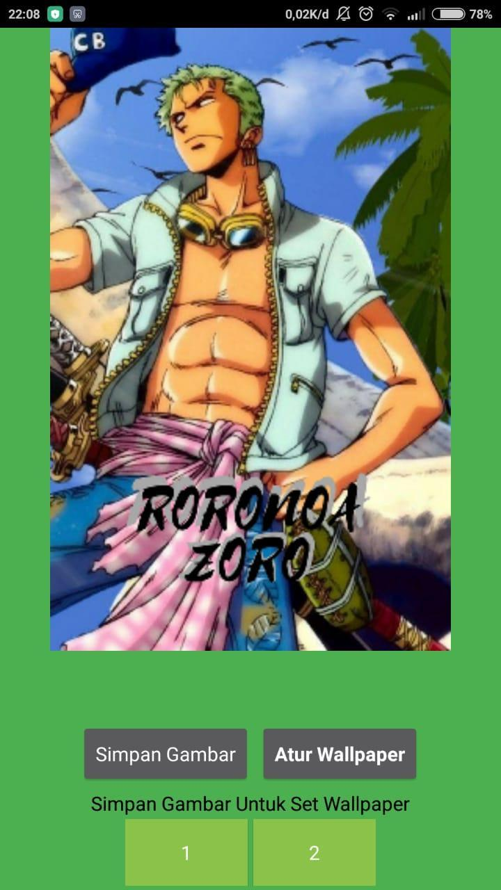 Wallpaper Zoro One Piece For Android Apk Download