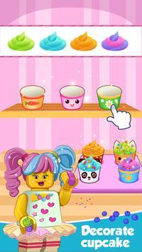 Make lego cupcake apk screenshot