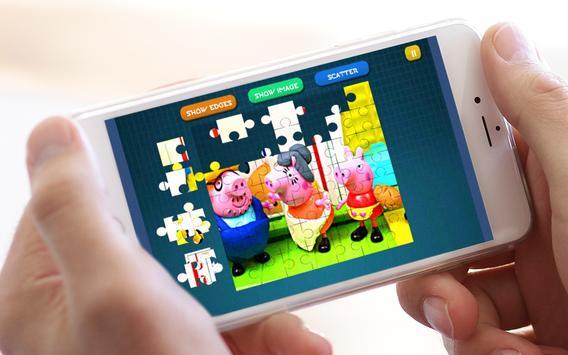 Jigsaw Lego Peppa apk screenshot