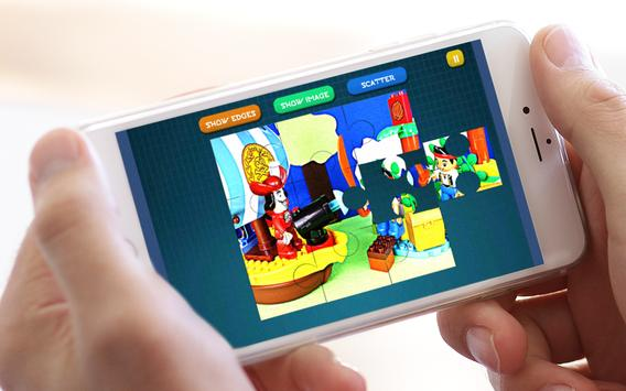 Jigsaw toys Pirates Lego apk screenshot