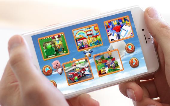 Jigsaw Pororo Lego screenshot 1