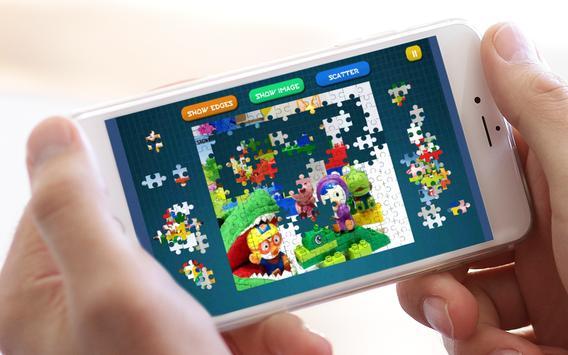 Jigsaw Pororo Lego screenshot 5
