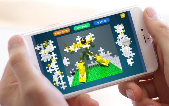 Jigsaw Lego Rangers apk screenshot