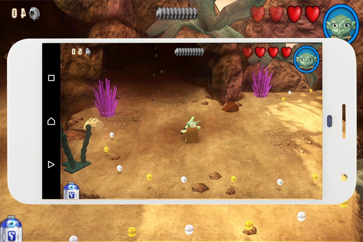 descargar lego star wars the complete saga android apk