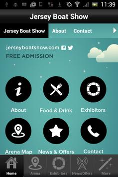 Barclays Jersey Boat Show poster