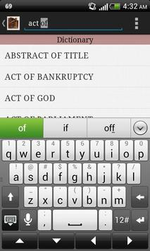 Legal Lexicon apk screenshot