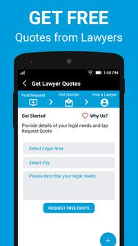 Legal Now - Find a Lawyer poster