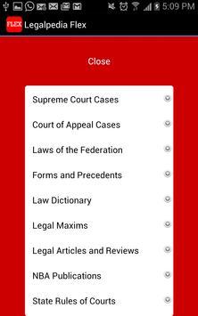 Legalpedia Flex apk screenshot