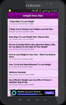 healthy weight loss apk screenshot