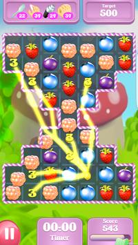 Berries Fruit: Match 3 Legend apk screenshot