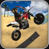 Motocross Beach Jumping Fun icon
