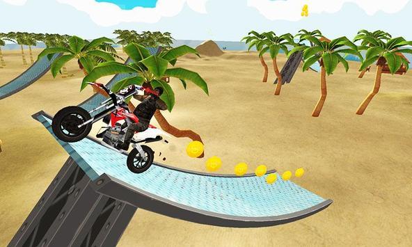 Motocross Beach Jumping Fun poster