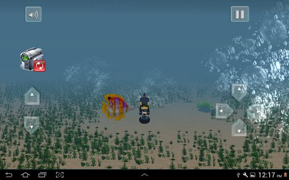 Flying Submarine Bike Racing screenshot 11