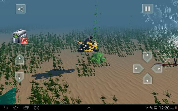 Flying Submarine Bike Racing screenshot 23