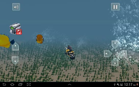 Flying Submarine Bike Racing screenshot 7