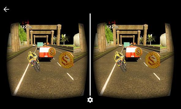VR Traffic Bike Racing poster