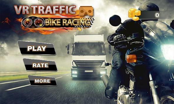 VR Traffic Bike Racing apk screenshot